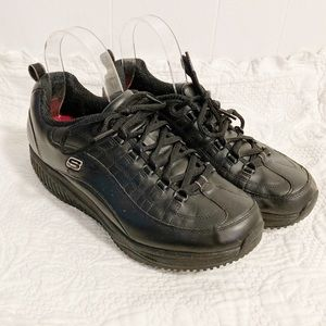 Sketchers shape up no slip black sneakers size 9.5
